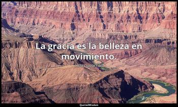 La gracia es la belleza en movimiento. Lola Gavarrón